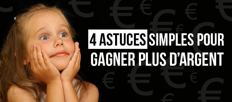4 METHODES POUR GAGNER PLUS QUAND ON EST VTC