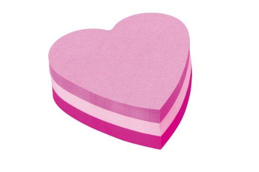 idée cadeau vtc pour la saint valentin post-it en forme de coeur