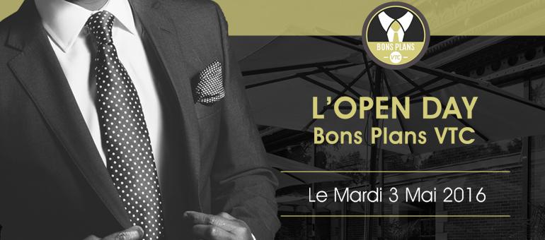 Open day Bons Plans VTC événement pour chauffeurs et partenaires