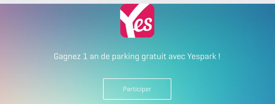 VTC Gagnez un an de parking gratuit
