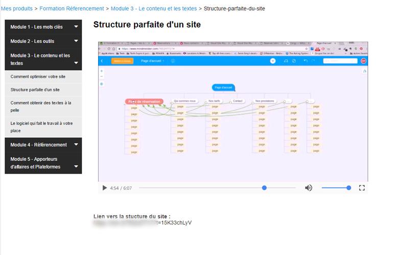 Exemples de site VTC design et structure parfaire