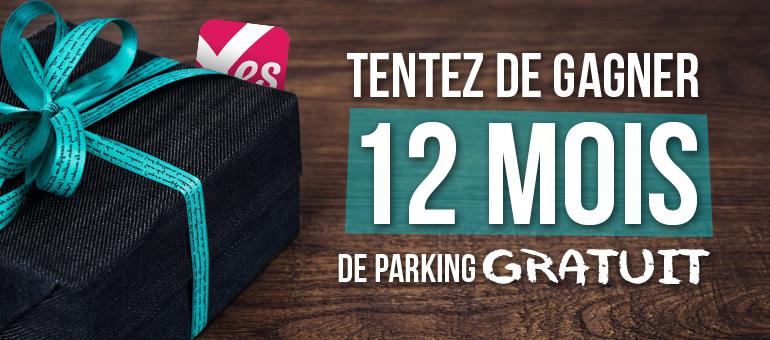 Jeu concours VTC parking gratuit