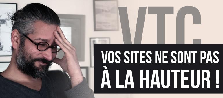 Site web VTC, ce qu'il faut faire