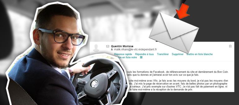 Quentin Chauffeur VTC à Chinon